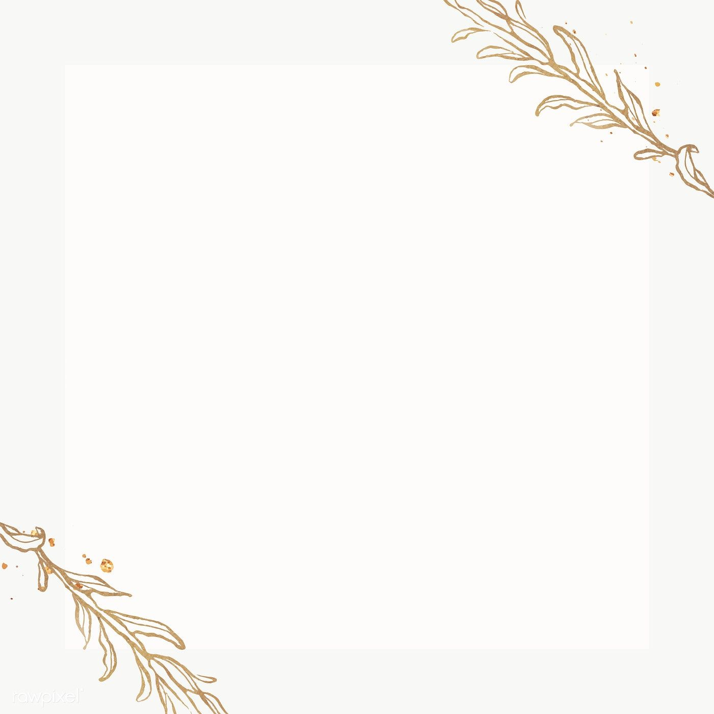 Download Premium Png Of Gold Leaves Frame On Marble Background 2019768 In 2020 Marble Background Flower Background Wallpaper Phone Wallpaper Images