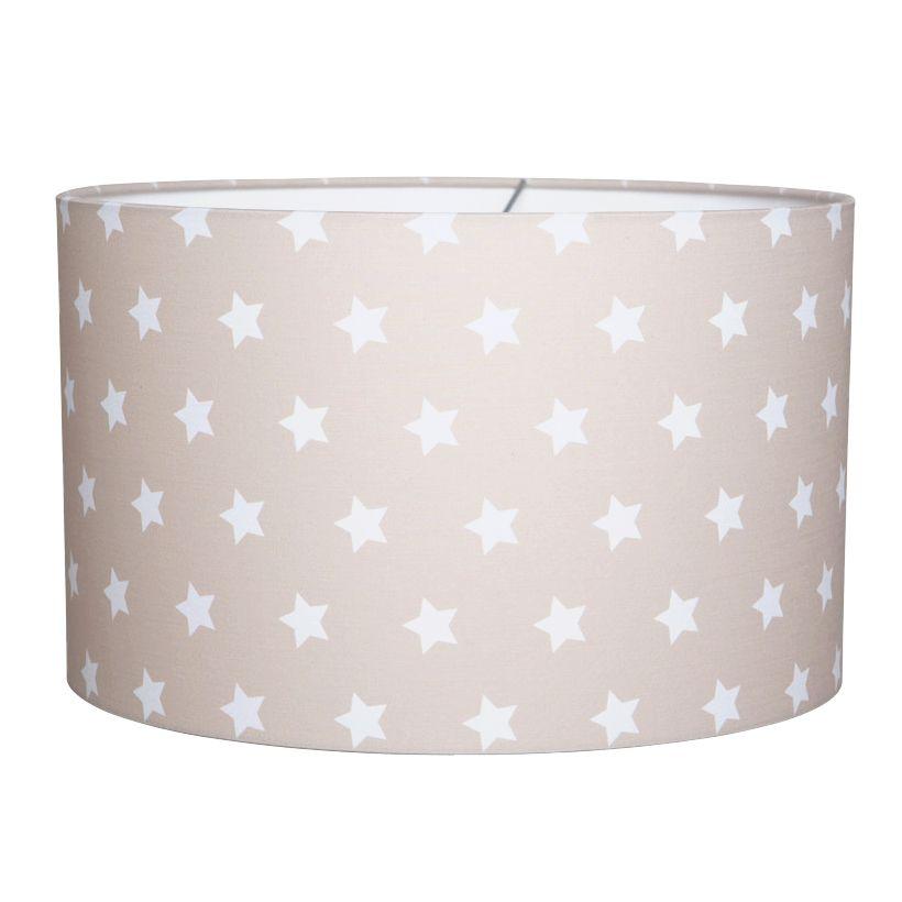 kinderlampe hängelampe sterne beige/weiß Ø 30cm | babyzimmer, baby ... - Wohnungseinrichtung Beige