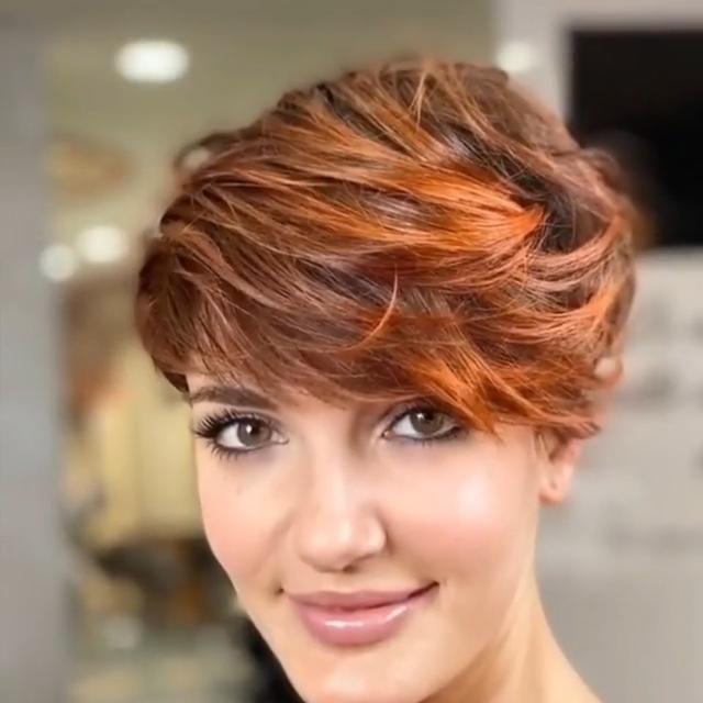 A great short haircut idea