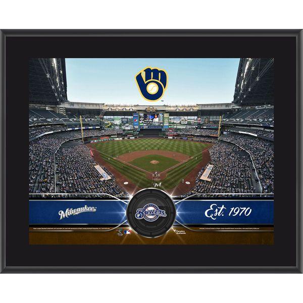 "Milwaukee Brewers Fanatics Authentic 10.5"" x 13"" Sublimated Team Plaque, $29.99"