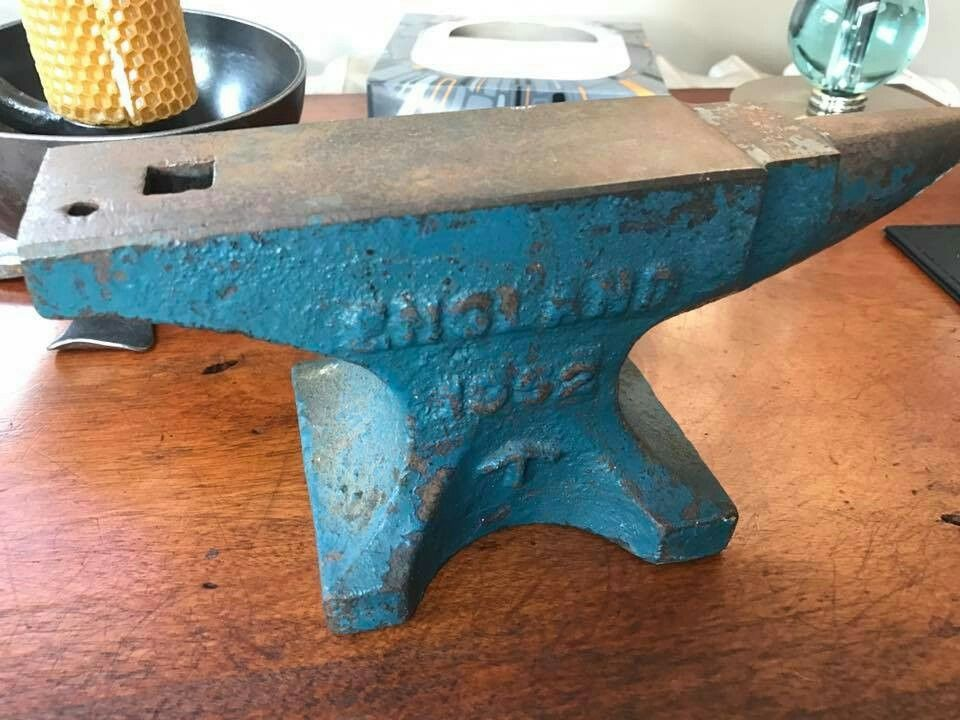 11 lb 1952 cast steel John Brooks Anvil Military issue and