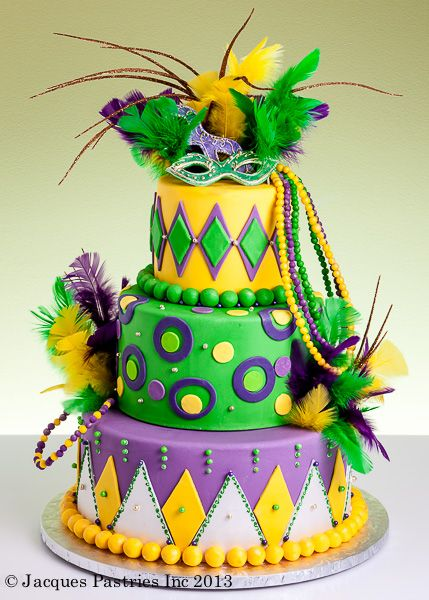Festive Mardi Gras Sheet Cake Ideas