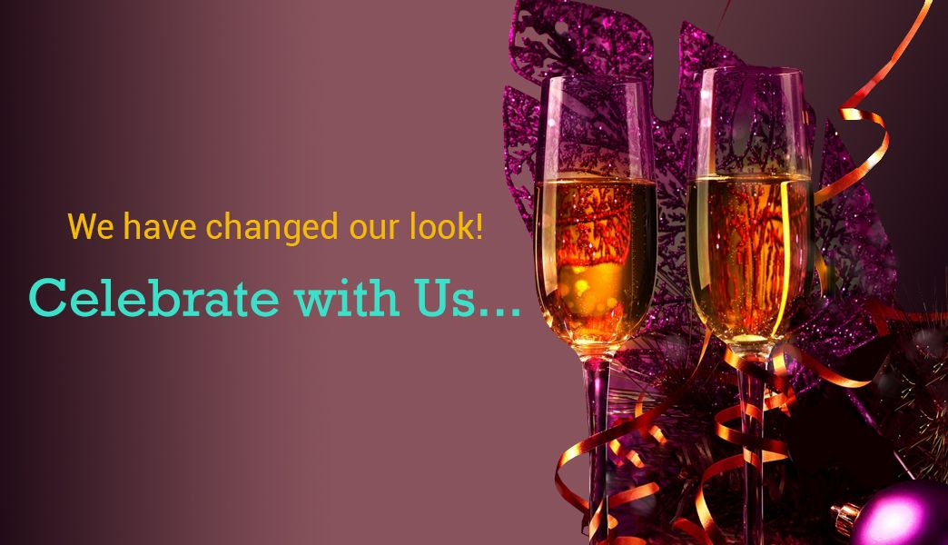 Join us in our celebrations! We have a new look and a new offer for you!
