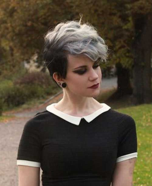 Short Emo Girl Hairstyle