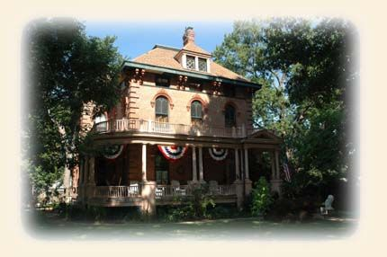 The Rippon Kinsella House is a Victorian Bed & Breakfast Inn located in a quiet, tree lined neighborhood on the North side of Springfield.      We are within walking distance of Oak Ridge Cemetery and Lincoln's Tomb and just ten minutes from downtown and the other Lincoln sites and Frank Lloyd Wright's Dana-Thomas house.