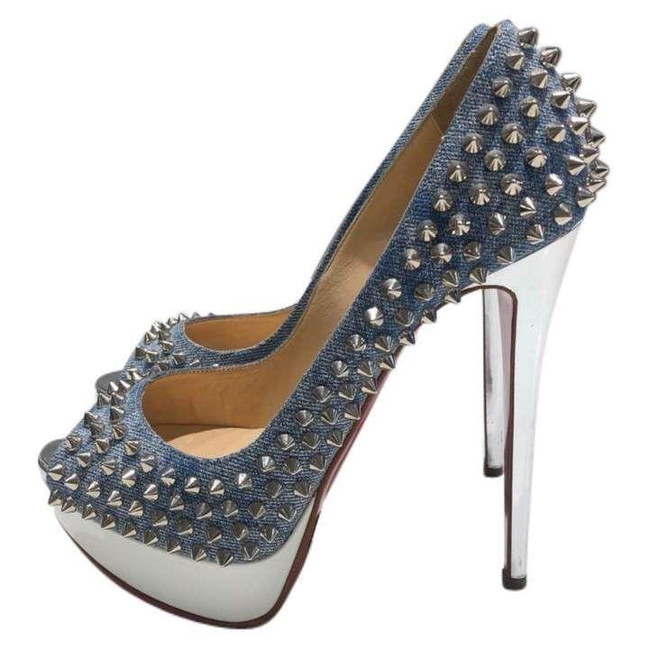 57b1485a05c9d Christian Louboutin Cloth heels