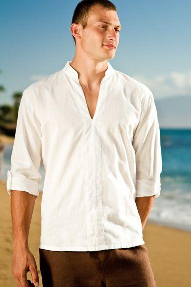 Linen Oasis Shirt | Grooms, Beach weddings and Wedding