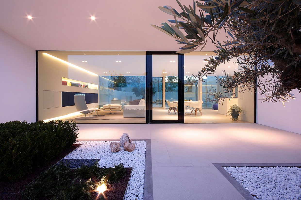 Jesolo Lido Pool Villa By Jm Architecture Outdoor Pinterest - Contemporary purity and simplicity pool villa by jm architecture italy