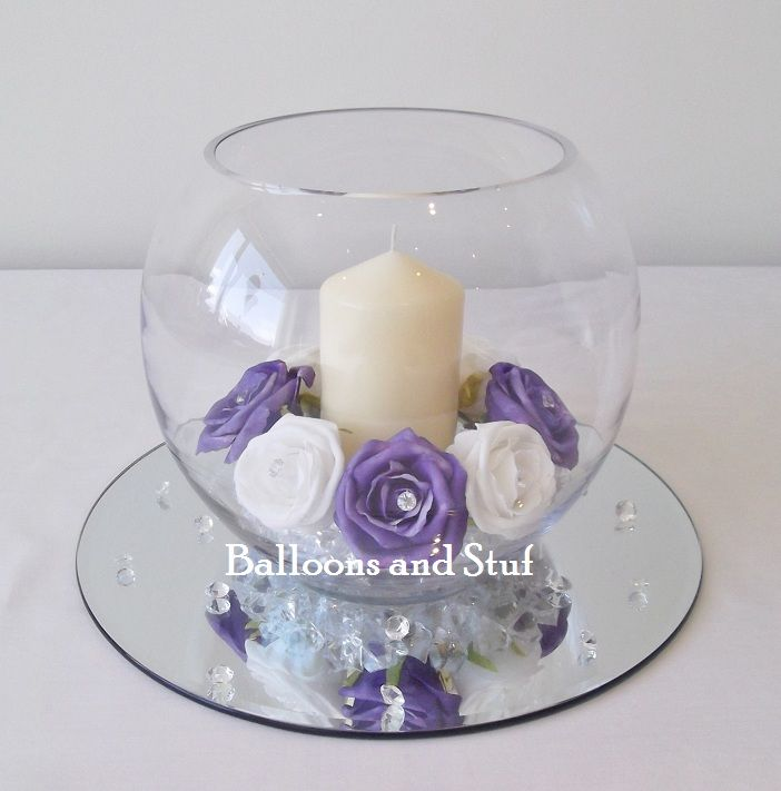 Decorative Glass Fish Bowls Gorgeous Balloon Balloons Nottingham Ng Mansfield Decorator Inspiration