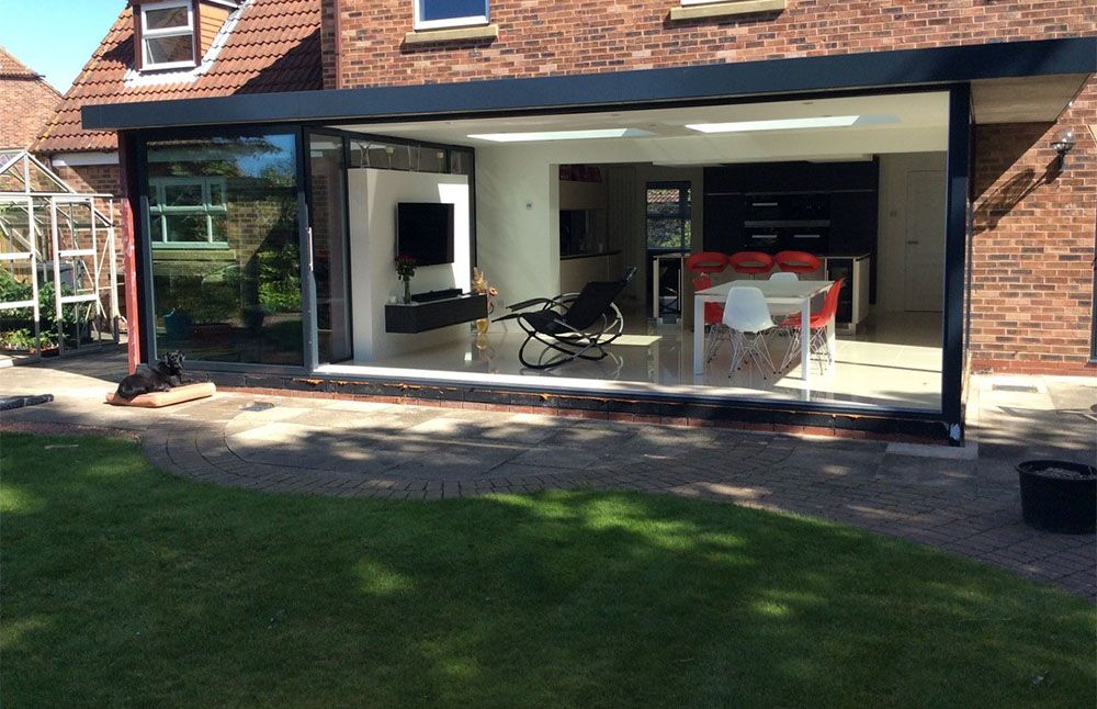 Sunflex UKs SVG Plus Sliding Door Installed By Park Farm Design