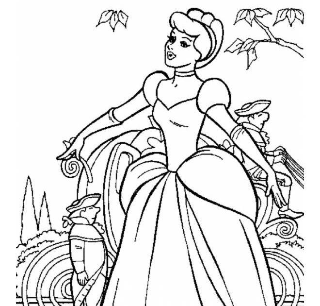 Da Colorare Per Principessa Da Stampare Disegni Da