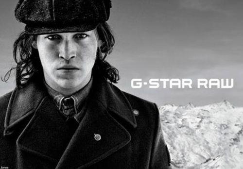 G-Star Raw: nuevas caras > El actor americano Caleb Landry Jones y la top model Arizona Muse son la nueva imagen de la famosa firma de denim alemán.