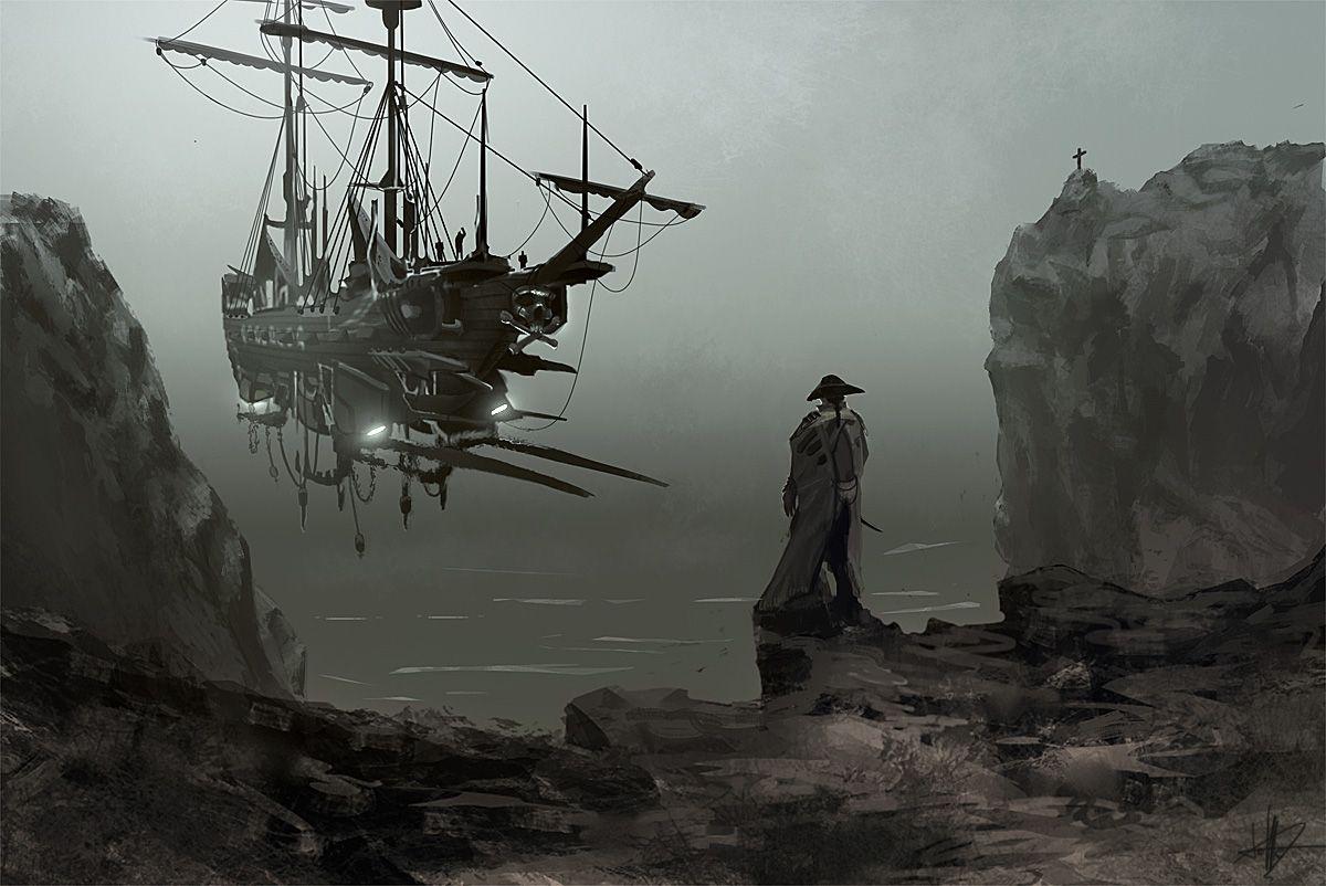 Black Sun Achimstyle Deviantart Sky Ships