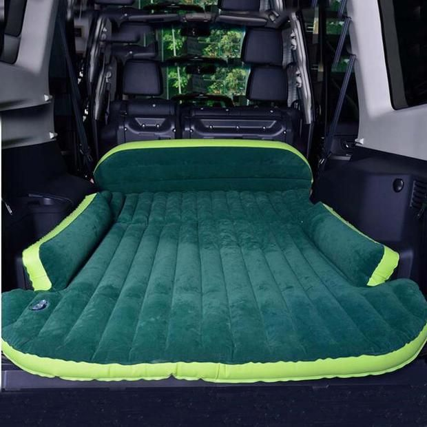 Inflatable Suv Amp Truck Mattress W Pump Tent Camping Beds Inflatable Mattress
