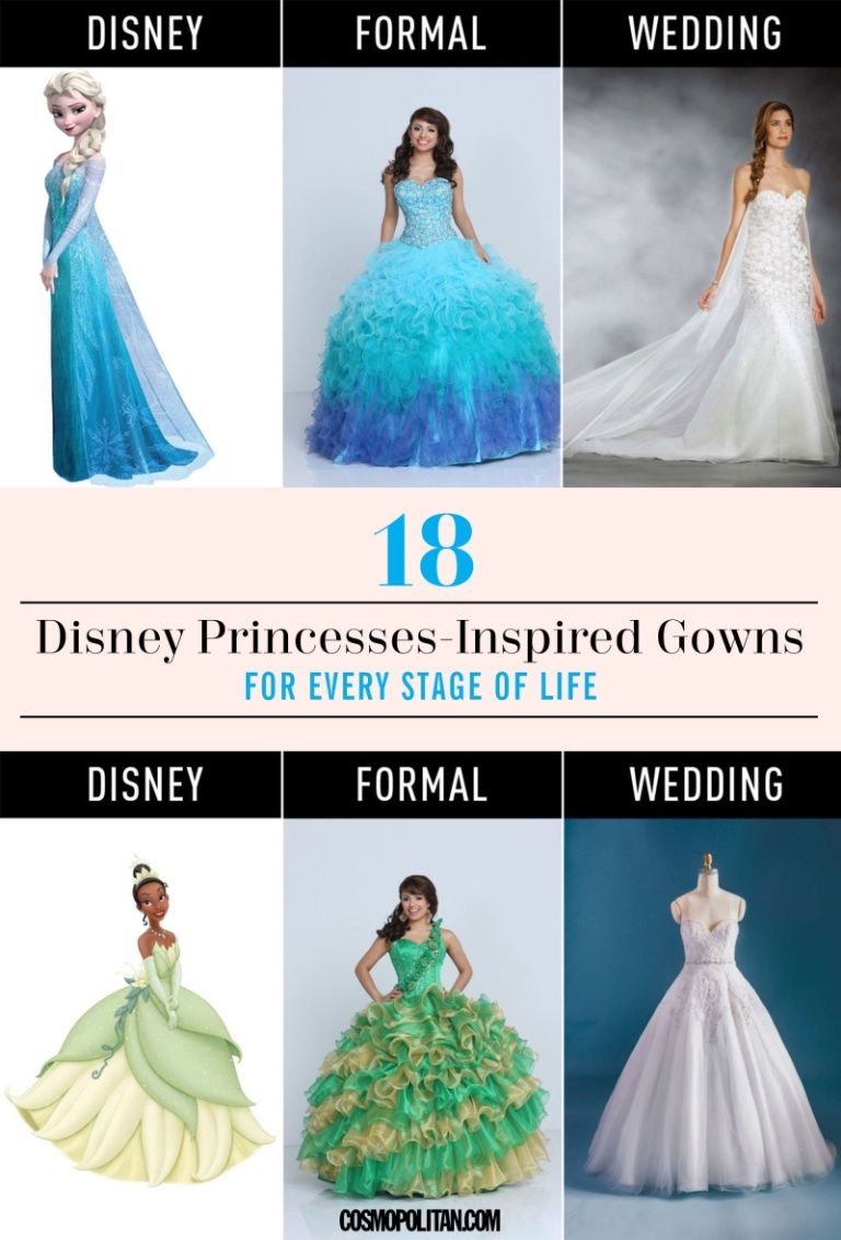 18 Disney Princesses-Inspired Gowns for Every Stage of Life | Movies ...