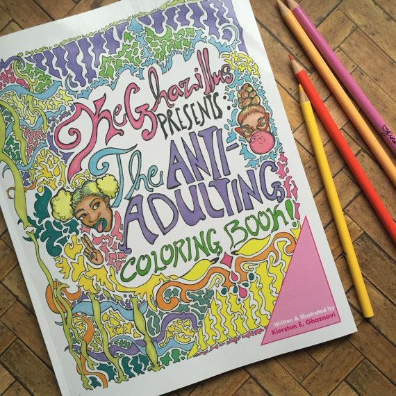 Adult Coloring Book Coloring Book Anti Stress By Keghazillus Coloring Books Adult Coloring Books Adult Coloring