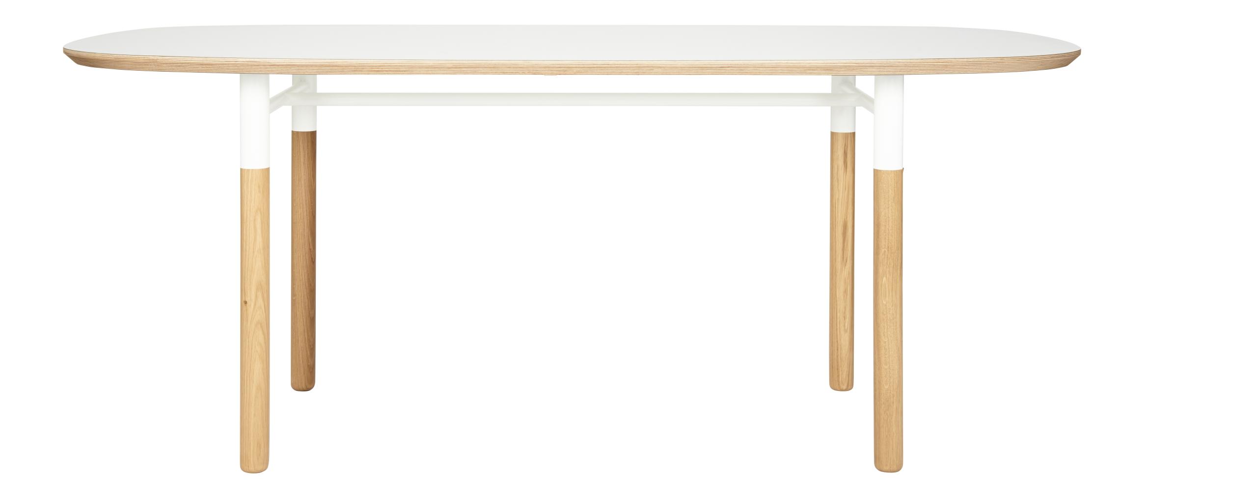 ovale esszimmertische weiß holz | wohnung | pinterest, Esstisch ideennn