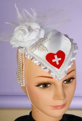 Loving Nurse Hat $10.44 #Nurse #Hats http://www.costumeshopper.com/prods/fm63401.html