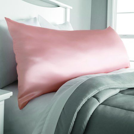 Mainstays Microfiber Body Pillow Cover Pink Products Pinterest Delectable Mainstays Body Pillow Cover
