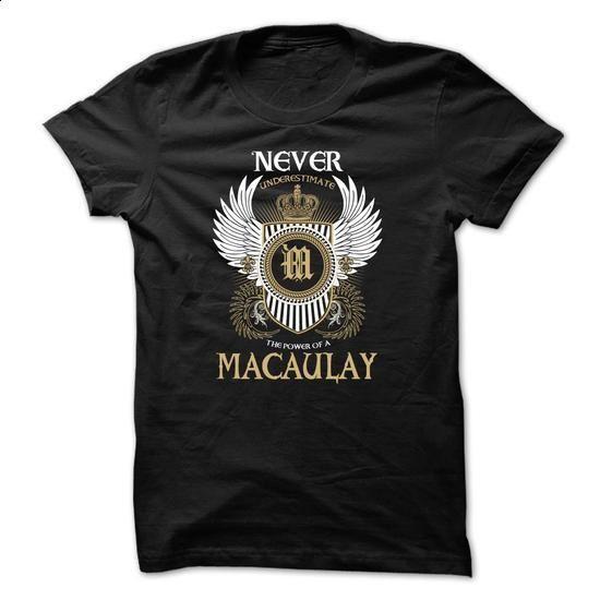 MACAULAY Never Underestimate - tshirt printing #shirt #cheap tee shirts