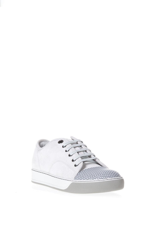 Lanvin Dbb1 Daim Ligth Chaussures Bas-top Eqs2a
