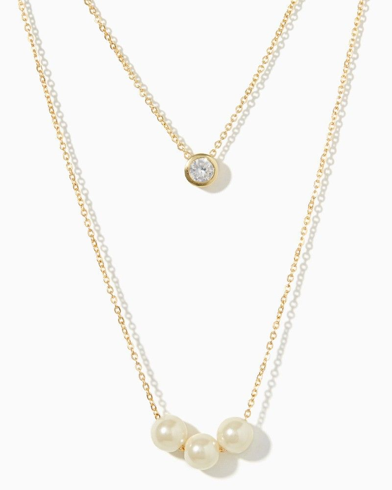 charming charlie | Avra Pearl Necklace | UPC: 410007367479 #charmingcharlie