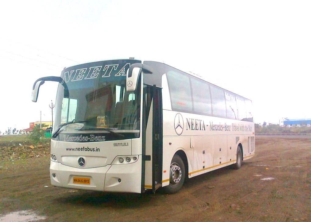 Bus Travel From Surat To Mumbai By Neeta Tours And Travels With