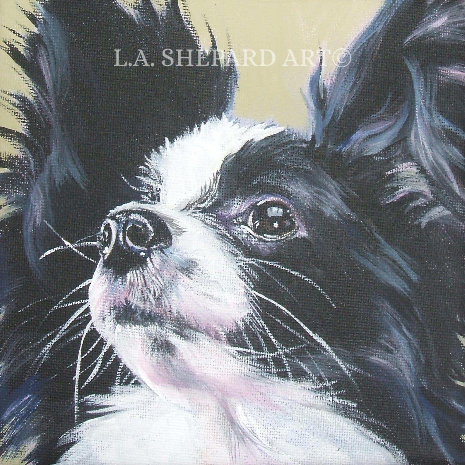 Papillon Dog Portrait Art Canvas Print Of Lashepard Painting Etsy In 2020 Papillon Dog Dog Artist Dog Print Art [ 1588 x 1588 Pixel ]