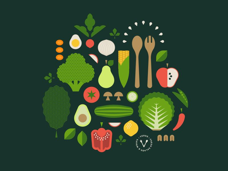 Vitamins Minerals Graphic Logo Branding Identity Logo Graphic