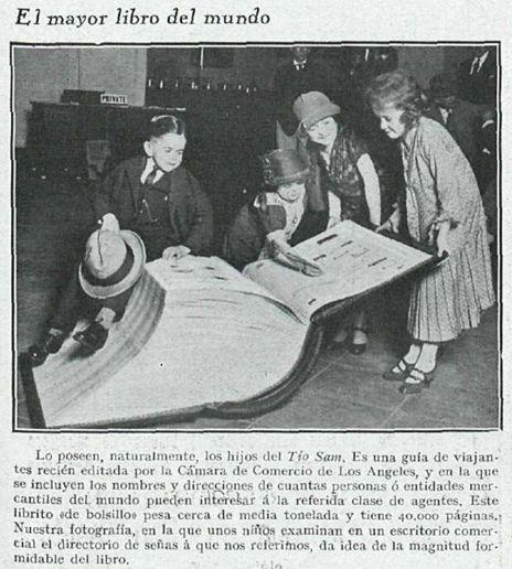 Superlibro – La Esfera 23 febrero 1929