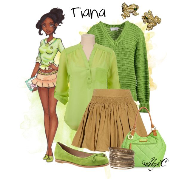 Princess Tiana Shoes: Disney's The Princess And The Frog