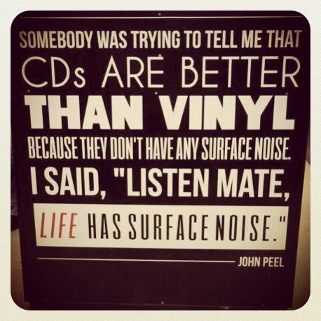 John Peel Says Vinyl Collectors Vinyl Music Vinyl
