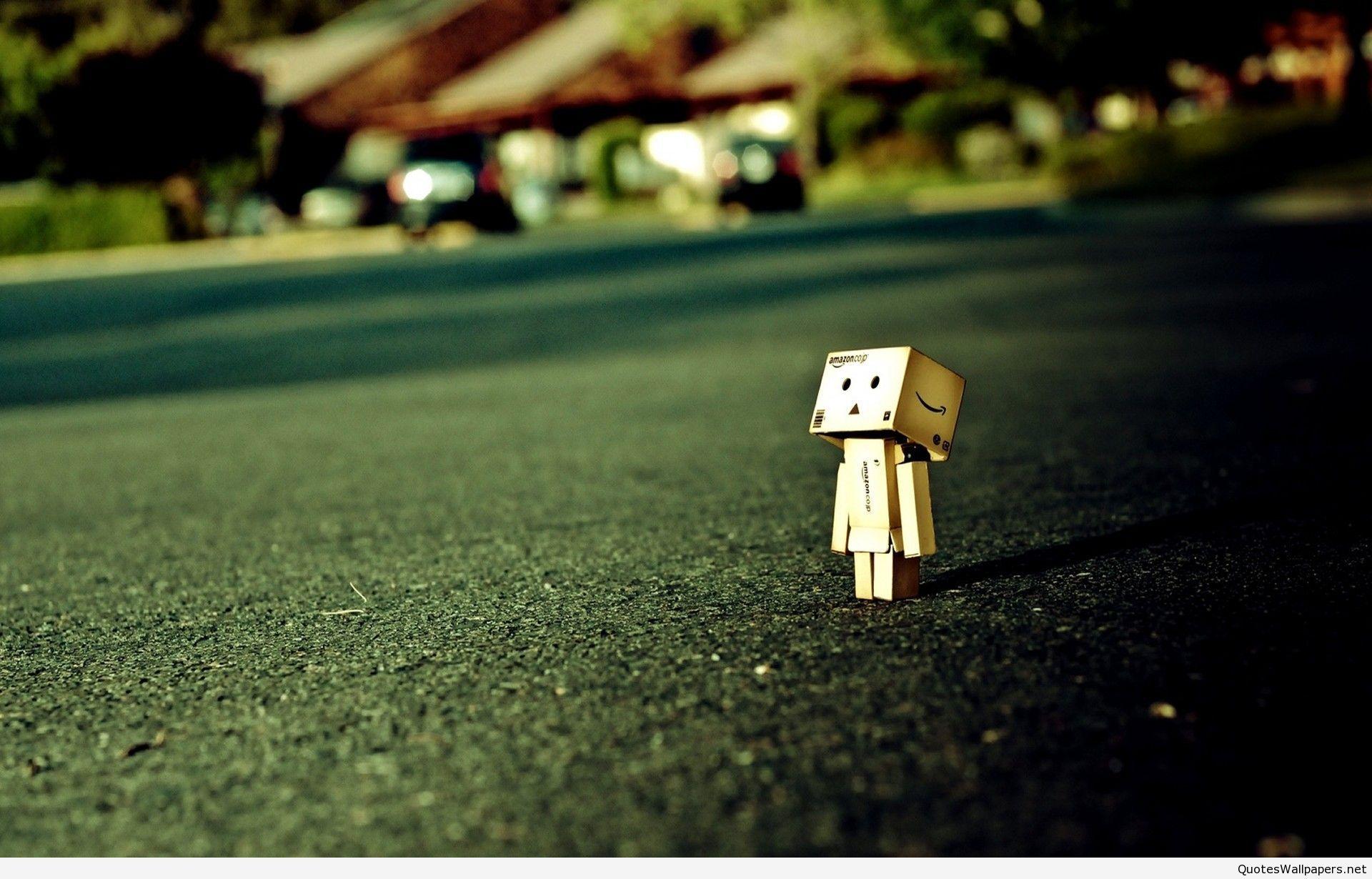 Feel Alone Wallpaper HD | www.quotespics.net