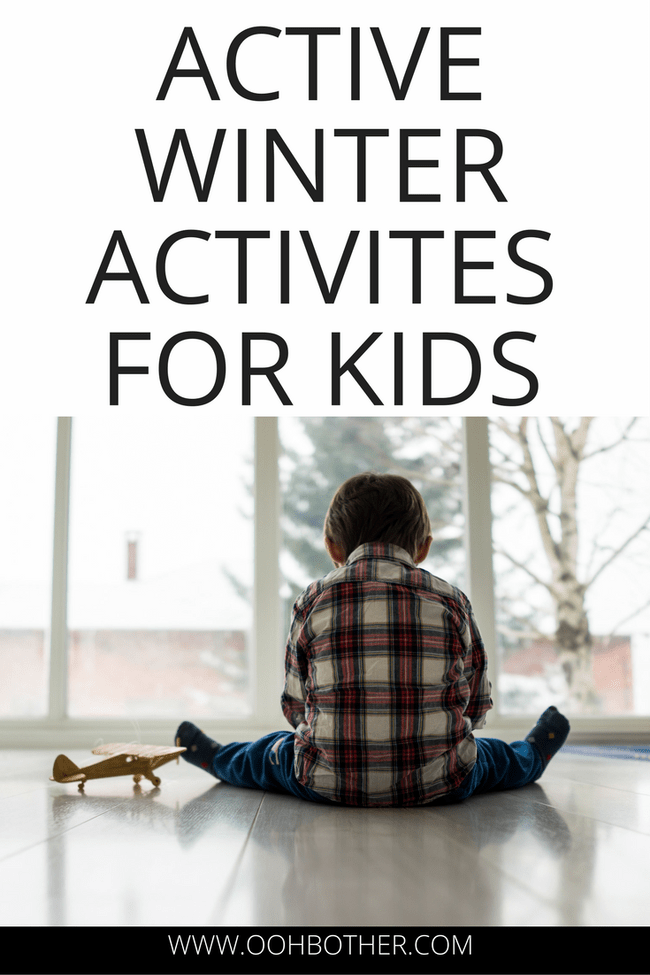 Winter activities for kids. Ideas and activities for kids to move during the winter months. Indoor games, scavenger hunts for kids, sports for kids and outdoor activities for kids who need to get their wiggles out!