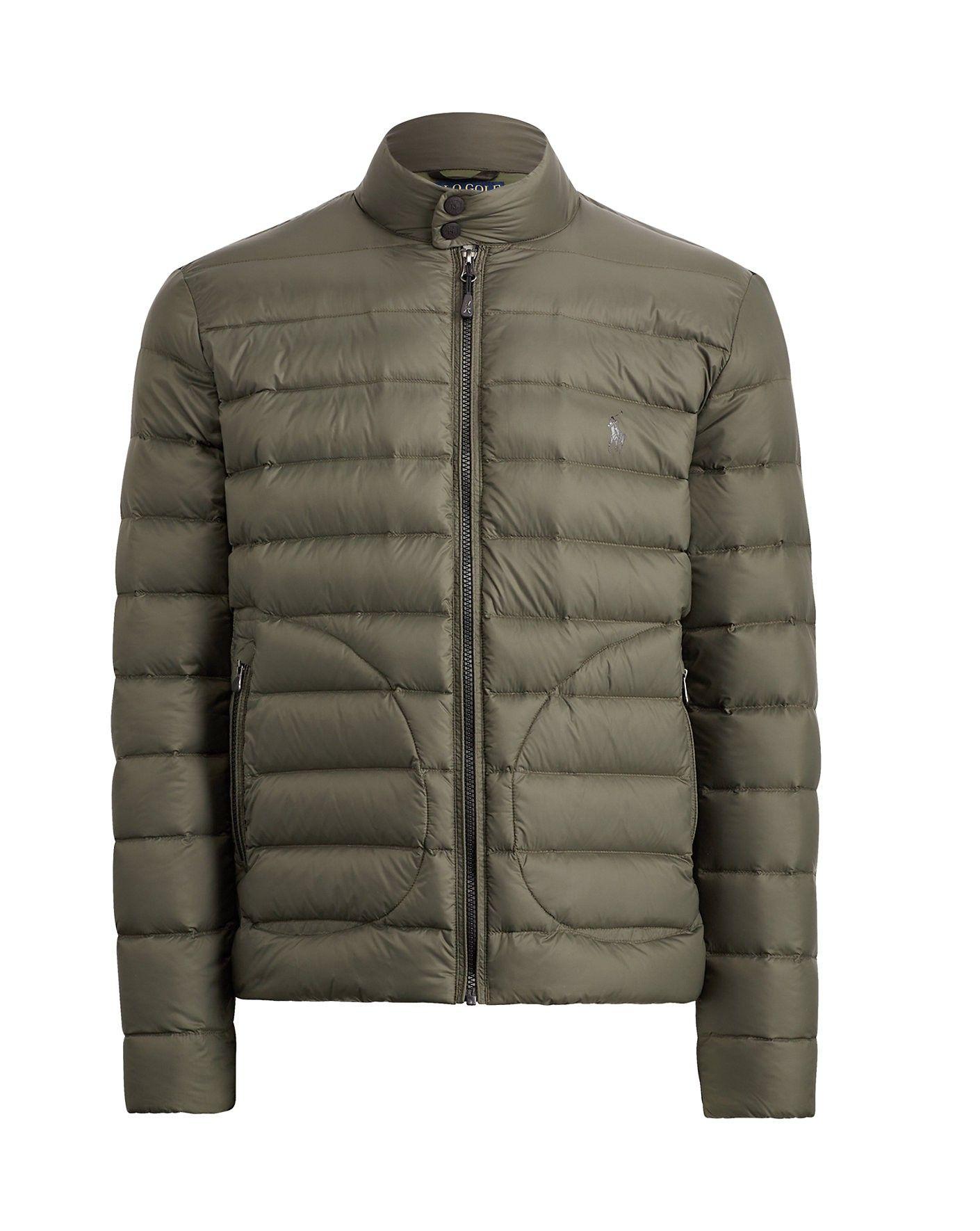 Ralph Lauren Polo Golf Packable Down Jacket In Forest Moss Modesens Down Jacket Jackets Ralph Lauren
