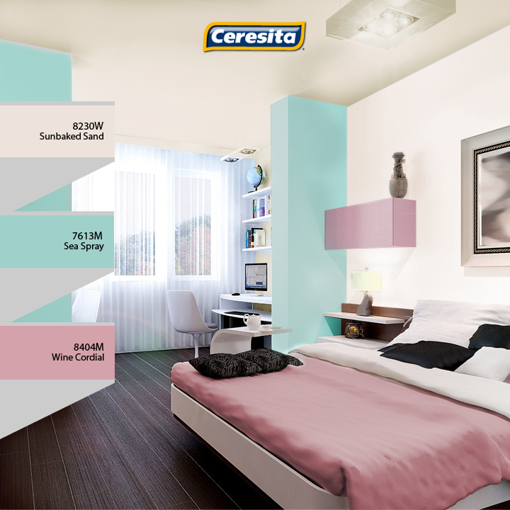 CeresitaCL #PinturasCeresita #habitación #matrimonio #color ...