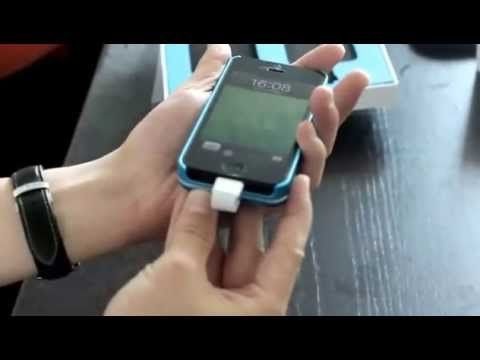 Magnetic-Attaching / Detachable 2800mAh Power Pack for iPhone 5