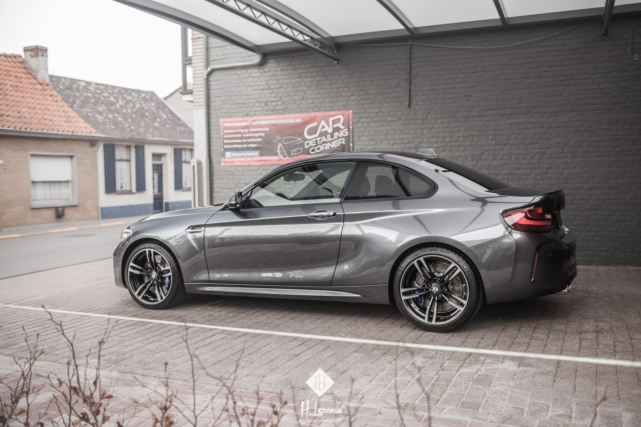 M2 Going Stealth Mode Wearing The Mineral Grey Dress Bmw M2