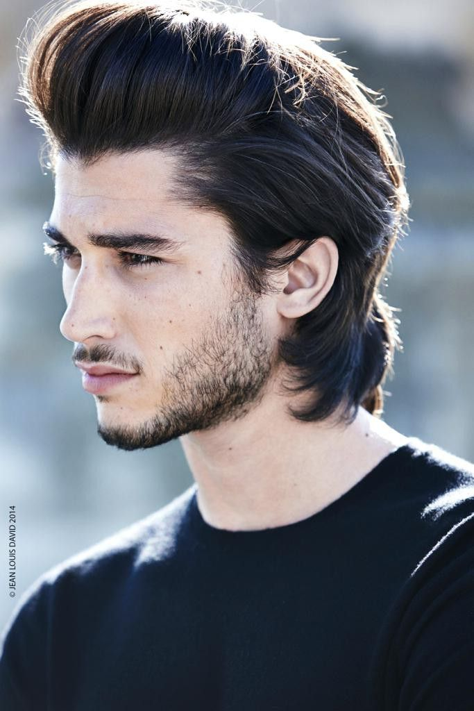 Men S Hairstyle Long Hair Styles Men Quiff Hairstyles Thick Hair Styles