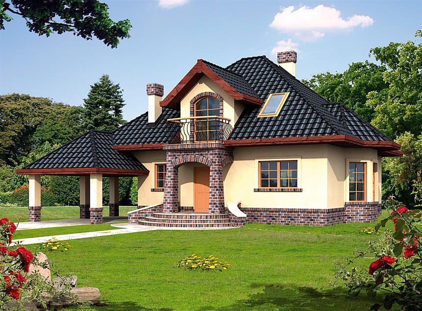 casa de vis cu mansarda mai mica de 150 mp proiect cu