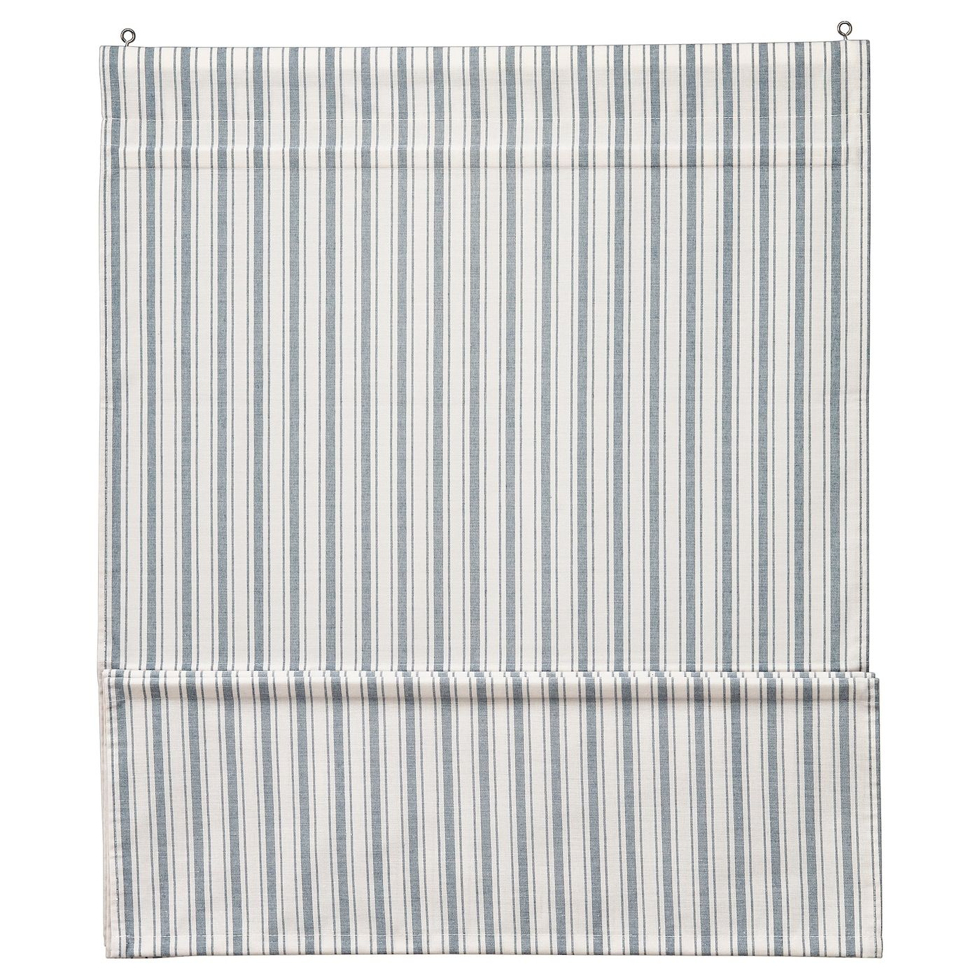 Ringblomma Roman Blind White Blue 48x63 Ikea In 2020 Roman Blinds Curtains With Blinds Blinds