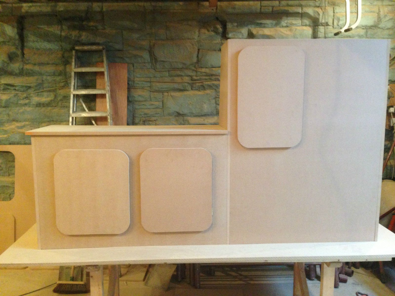 Interior Kitchen Ford Transit Kitchen Unit Cupboards Camper Van Campervan Interior