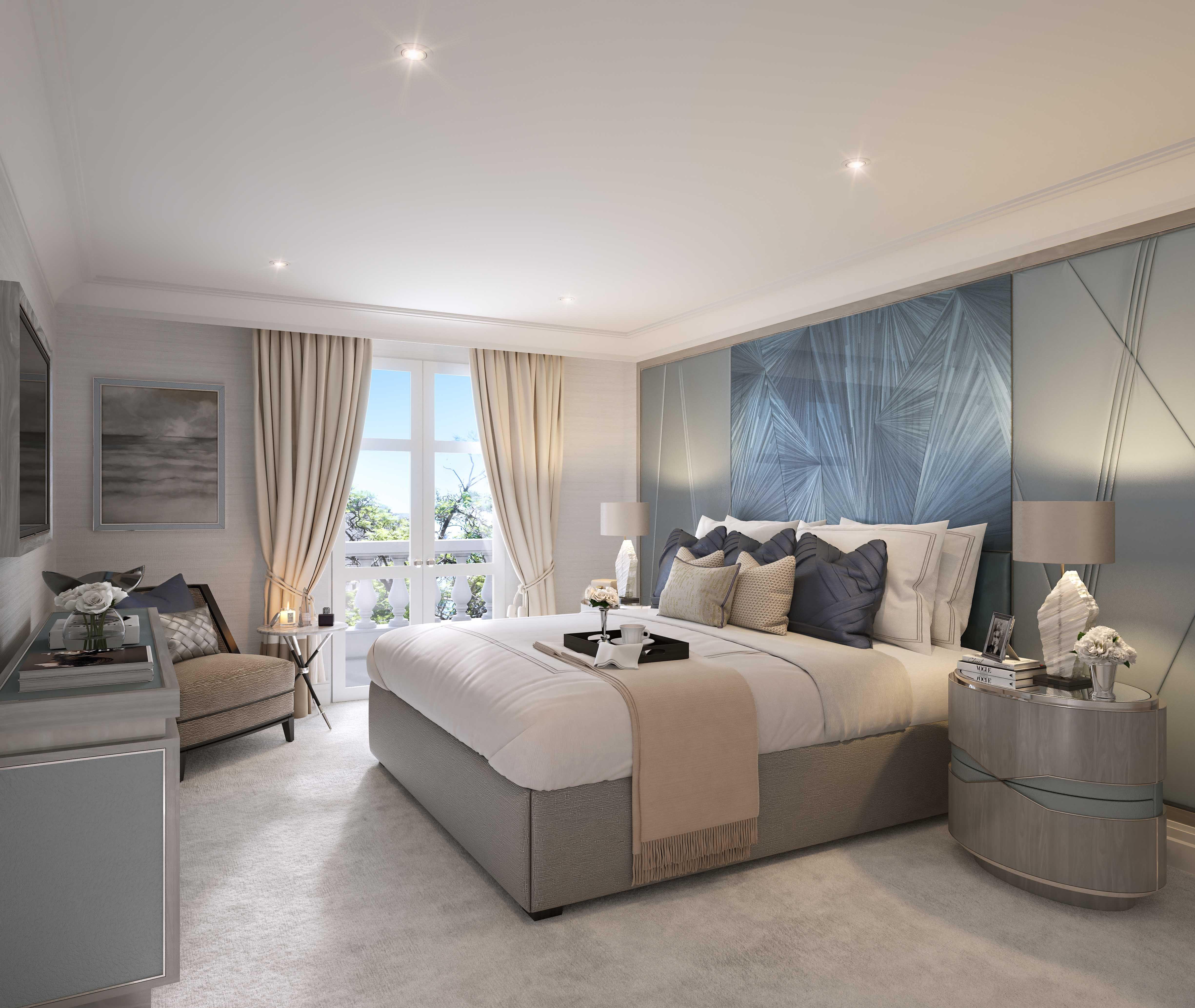 40 Guest Bedroom Ideas: Guest Bedroom, Villa La Vague - Morpheus London