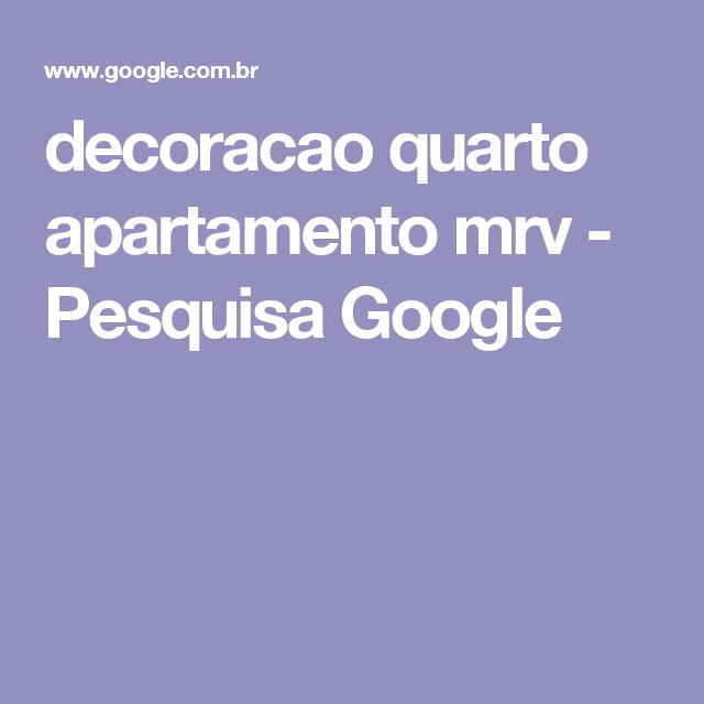 decoracao quarto apartamento mrv - Pesquisa Google