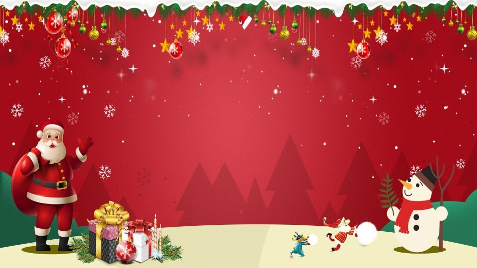 Snowflake Christmas Background Cartoon Design Christmas Background Free Christmas Backgrounds Cute Christmas Backgrounds