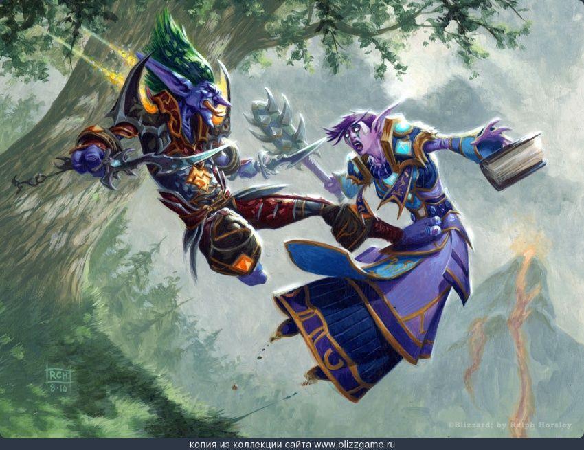 Daze By Ralph Horsley World Of Warcraft Warcraft Art Warcraft
