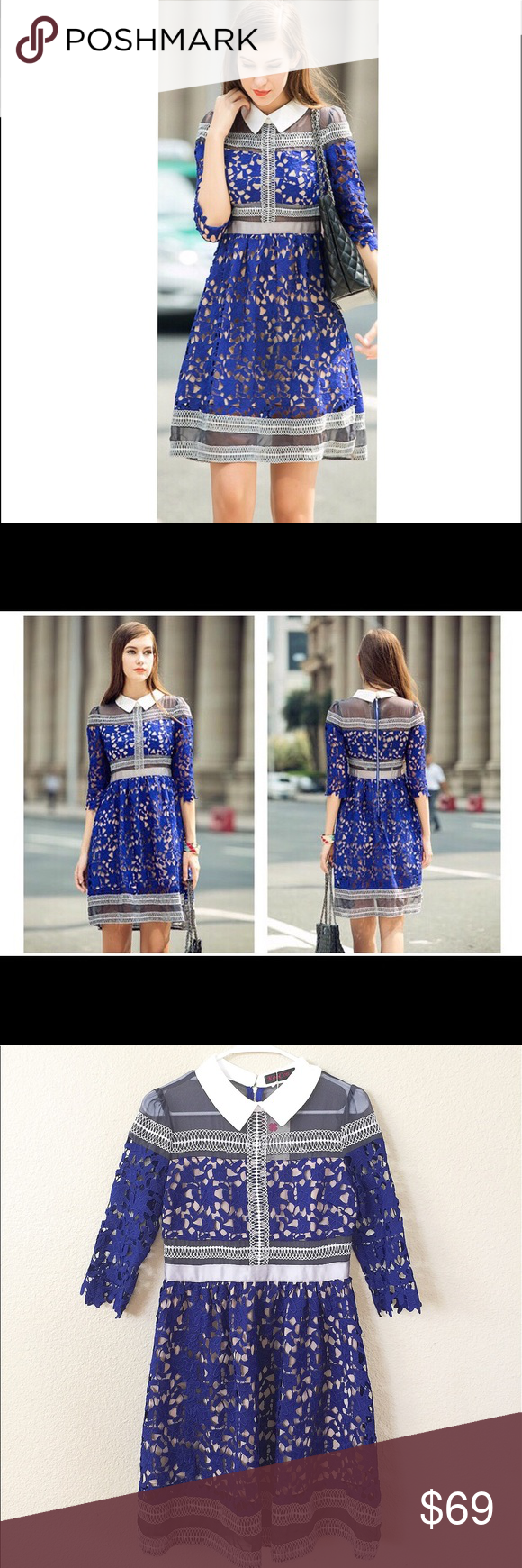 M boutique lace dress  NWT beautiful lace dress SZ M Boutique