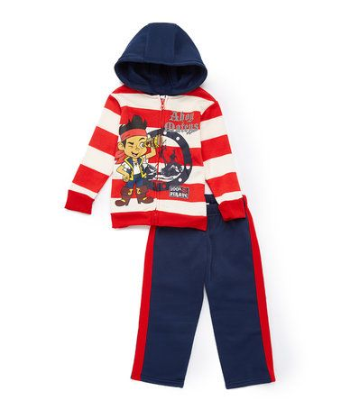 Another great find on #zulily! Jake and the Never Land Pirates Hoodie & Pants - Toddler & Boys #zulilyfinds