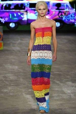 rainbow dress :-))