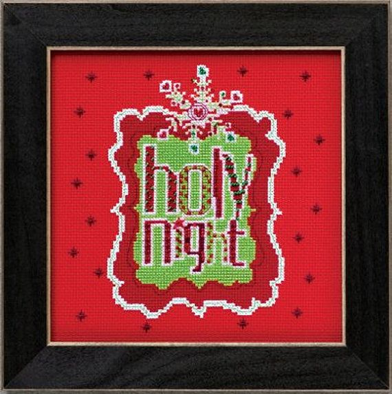 Mill Hill Amylee Weeks  Holy Night AW304202 by DebiCreations, $15.49